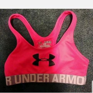 UNDER Armour Sports Bra Heatgear Fitted Youth Girl